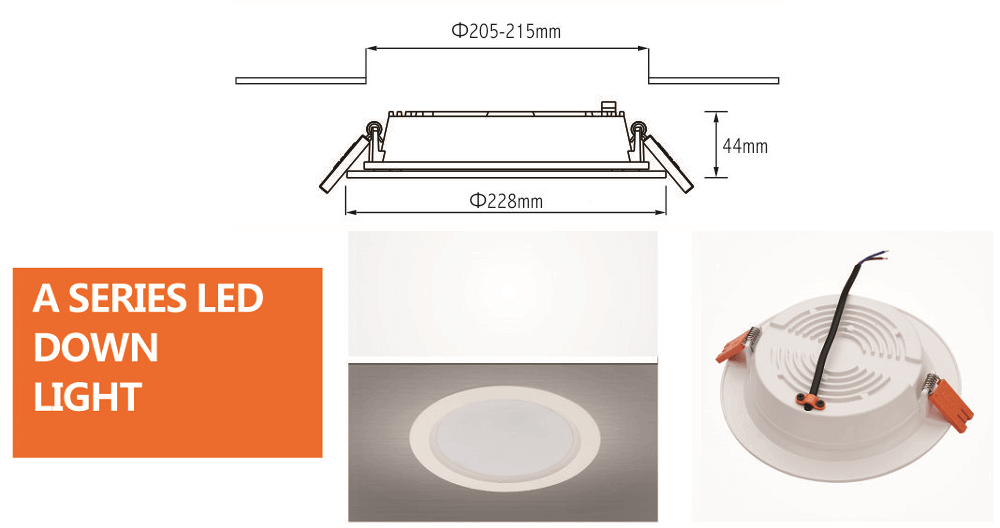 led downlight liper 30w